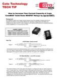Tech Tip - Increasing CotoMOS Current Capacity