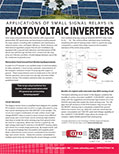 MOSFET (SSR) - Applications of Small Signal Relays in Photovoltaic  Inverters