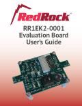 RedRock RR1EK2-0001 Evaluation Board User's Guide