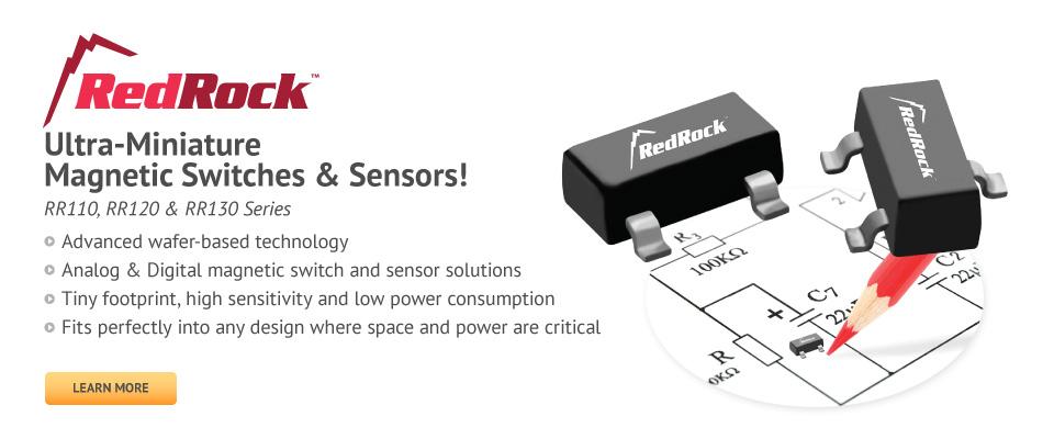 RedRock Ulta-Miniature Magnetic Switches & Sensors
