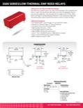 3500 Series/Low Thermal EMF Reed Relays