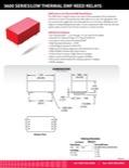 3600 Series/Low Thermal EMF Reed Relays