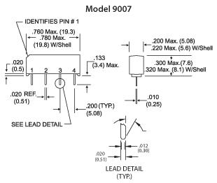 9007 mechanicals