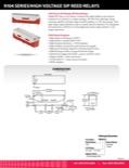 9104 Series/High Voltage SIP Reed Relays
