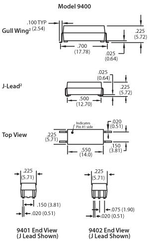 9300-9400 mechanicals