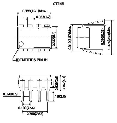CT248 / CS248 / CT348 / CS348 mechanicals