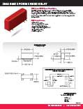 2362 SMD 2 FORM C REED RELAY