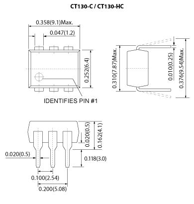 CT130-C / CS130-C and CT130-HC / CS130-HC mechanicals