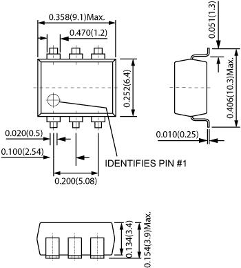 CotoMOS CS470 Dimensions