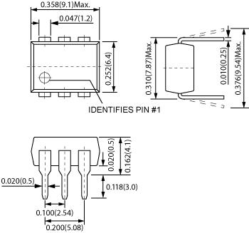 CotoMOS CT470 Dimensions