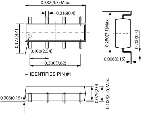 CotoMOS C245S-A C345S-A Dimensions