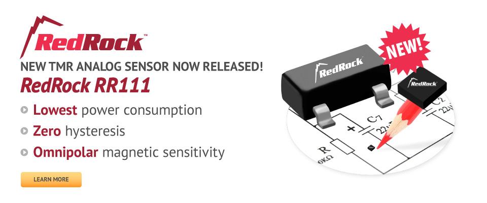 RedRock RR111 TMR Analog Magnetic Sensor